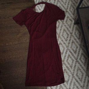 Dresses & Skirts - Maroon Bodycon Dress